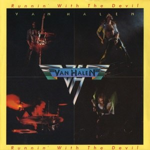 Runnin' with the Devil - Image: Van Halen Runnin' With The Devil US single cover