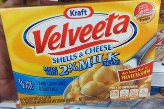 Velveeta Shells & Cheese - Image: Velveeta Shells & Cheese