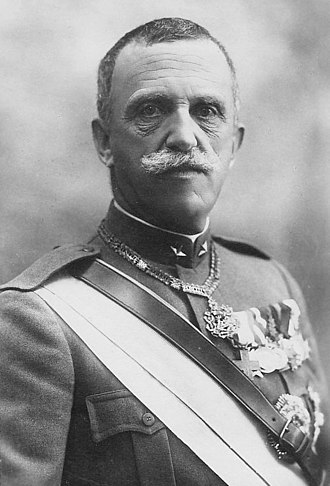 Victor Emmanuel III of Italy - Portrait in 1919