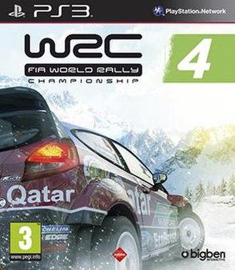 WRC 4: FIA World Rally Championship - Image: WRC4 PS3 cover