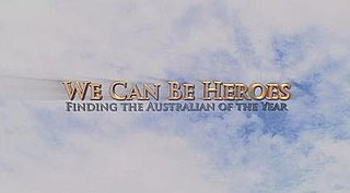 <i>We Can Be Heroes: Finding the Australian of the Year</i> Australian fictional television series