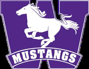 Western Mustangs football - Image: Western Ontario Mustangs logo