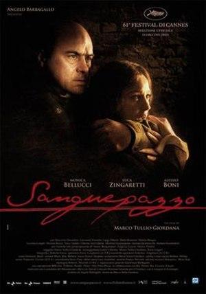 Wild Blood (2008 film) - Sanguepazzo theatrical poster.