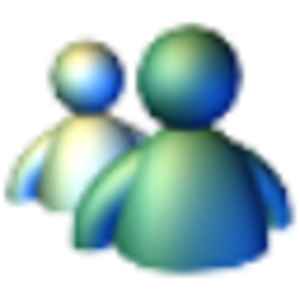 Windows Messenger - Image: Windows Messenger XP Icon