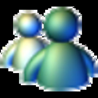 Windows Messenger - Image: Windows Messenger XP Icon