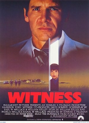 Witness (1985 film) - Original poster