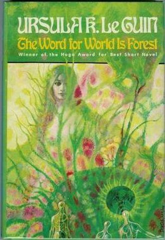 The Word for World Is Forest - Cover of first edition (hardcover)