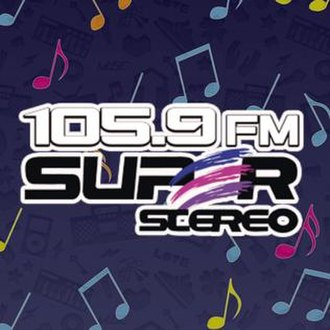 XHFCY-FM - Image: XHFCY 105.9Superstereo logo