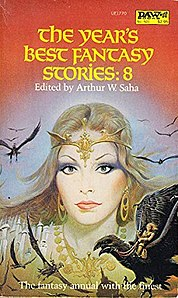 <i>The Years Best Fantasy Stories: 8</i> book by Arthur W. Saha