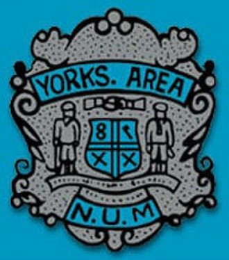 Yorkshire Miners' Association - Image: Yorkshire Area of the National Union of Mineworkers logo