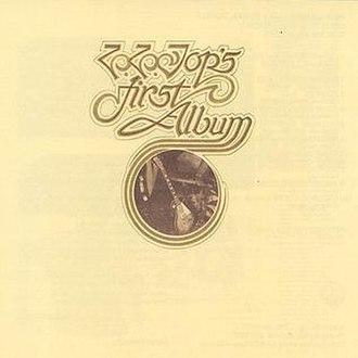 ZZ Top's First Album - Image: ZZ Top ZZ Top's First Album
