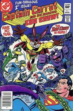 Captain Carrot and His Amazing Zoo Crew! - Image: Zoo Crew 1 cover