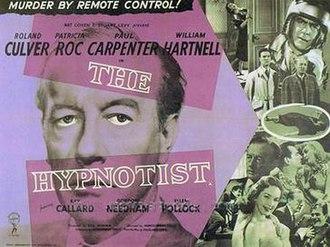 The Hypnotist (1957 film) - UK poster
