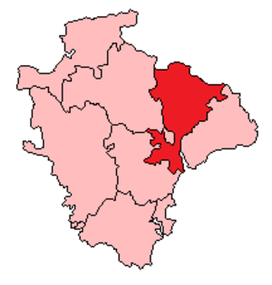 Tiverton (UK Parliament constituency) - Image: 1885 1918 Tiverton