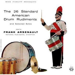 Frank Arsenault - Image: 26Standard Rudiments vinyl cover