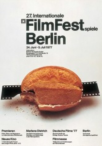27th Berlin International Film Festival - Festival poster