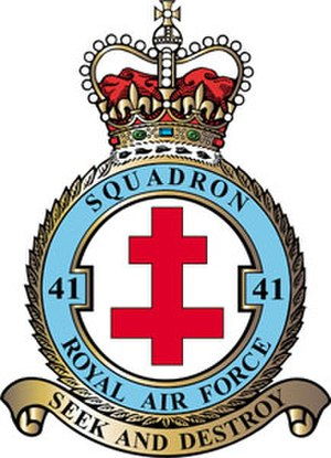 No. 41 Squadron RAF - 41 Squadron badge