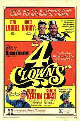 4 Clowns - 4 Clowns theatrical poster