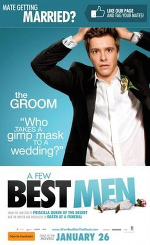 A Few Best Men - Australian release poster