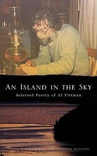 Al Pittman Canadian writer
