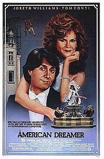 <i>American Dreamer</i> (film) 1984 film by Rick Rosenthal