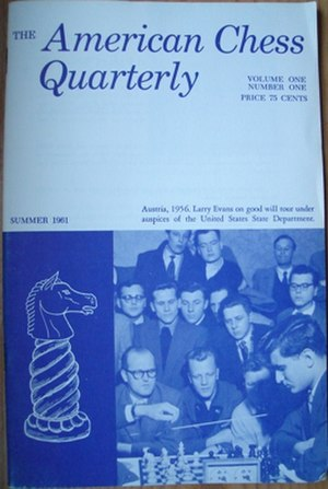 American Chess Quarterly - First issue of the American Chess Quarterly (Summer 1961)