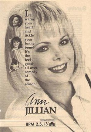 Ann Jillian (TV series) - Series premiere print advertisement
