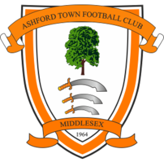 Ashford Town (Middlesex) F.C. - Image: Ashford Town Middlesex F.C. logo