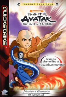 Avatar: The Last Airbender Trading Card Game 2006 collectible card game