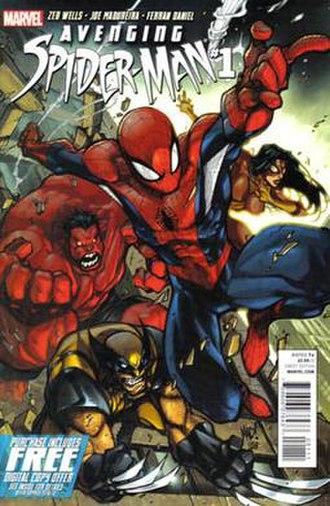 Avenging Spider-Man - Image: Avenging spider 01
