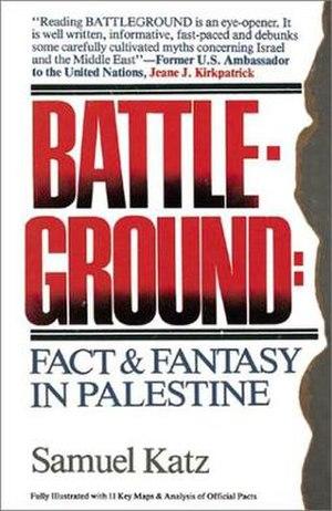Battleground: Fact and Fantasy in Palestine - Front cover of Battleground: Fact and Fantasy in Palestine