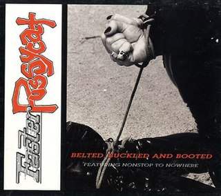 <i>Belted, Buckled and Booted</i> 1992 EP by Faster Pussycat