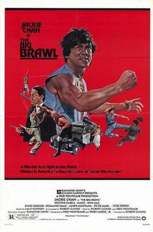 The Big Brawl - Theatrical release poster