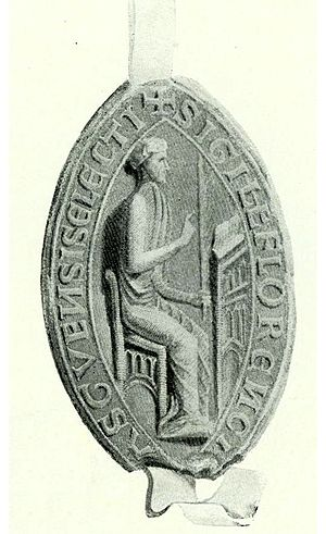 Florence of Holland - The seal of Bishop Florence.