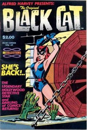 Al Gabriele - Image: Black Cat Harvey Comics