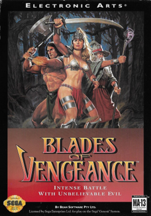 Blades of Vengeance - Image: Blades of Vengeance cover