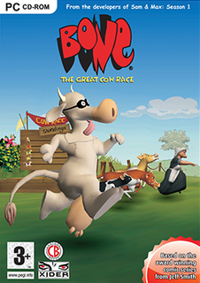 <i>Bone: The Great Cow Race</i> 2006 video game