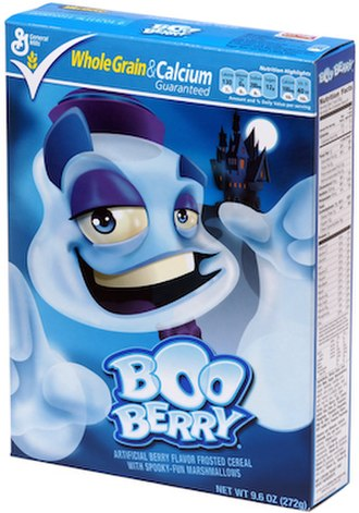 Monster cereals - Image: Boo Berry Box Small