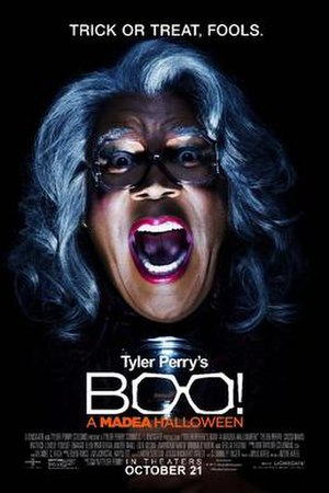 Boo! A Madea Halloween - Theatrical release poster