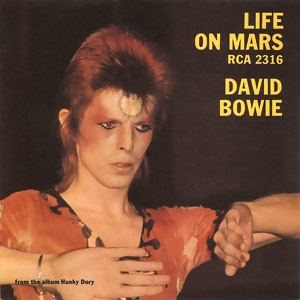 Life on Mars (song) - Image: Bowie Life On Mars