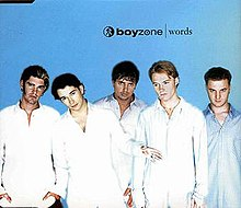 Boyzone — Words (studio acapella)