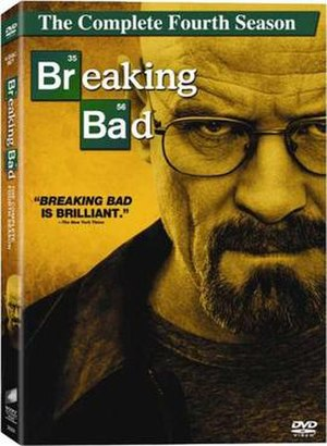 Breaking Bad (season 4) - Image: Breaking Bad season four DVD