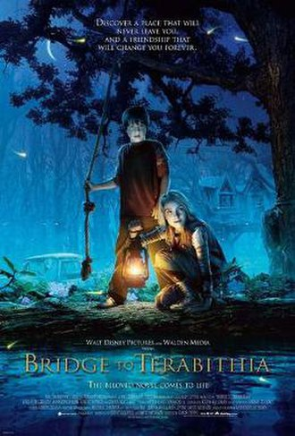 Bridge to Terabithia (2007 film) - Theatrical poster