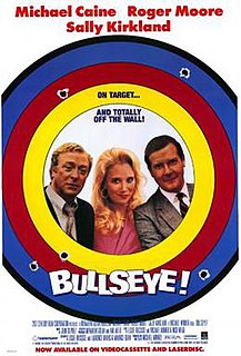 <i>Bullseye!</i> (1990 film) 1990 film by Michael Winner