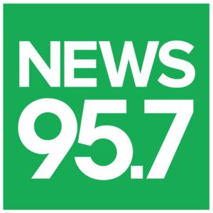 CJNI-FM - Image: CJNI NEWS95.7 logo