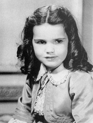 """Cammie King - As """"Bonnie Blue Butler"""" in Gone With the Wind (1939)"""