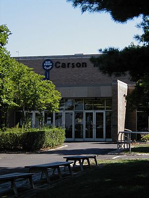 Carson Middle School - Image: Carsonsummer