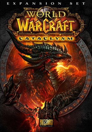 World of Warcraft: Cataclysm - Image: Cataclysm Cover Art