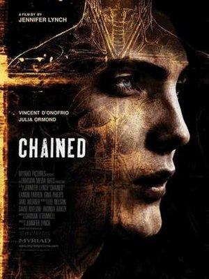 Chained (2012 film) - Image: Chained 2012 horror poster