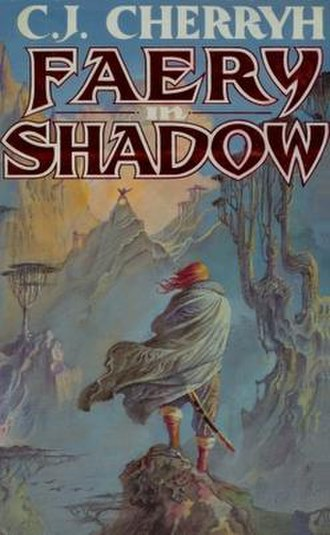 Faery in Shadow - First edition cover (British trade paperback)
